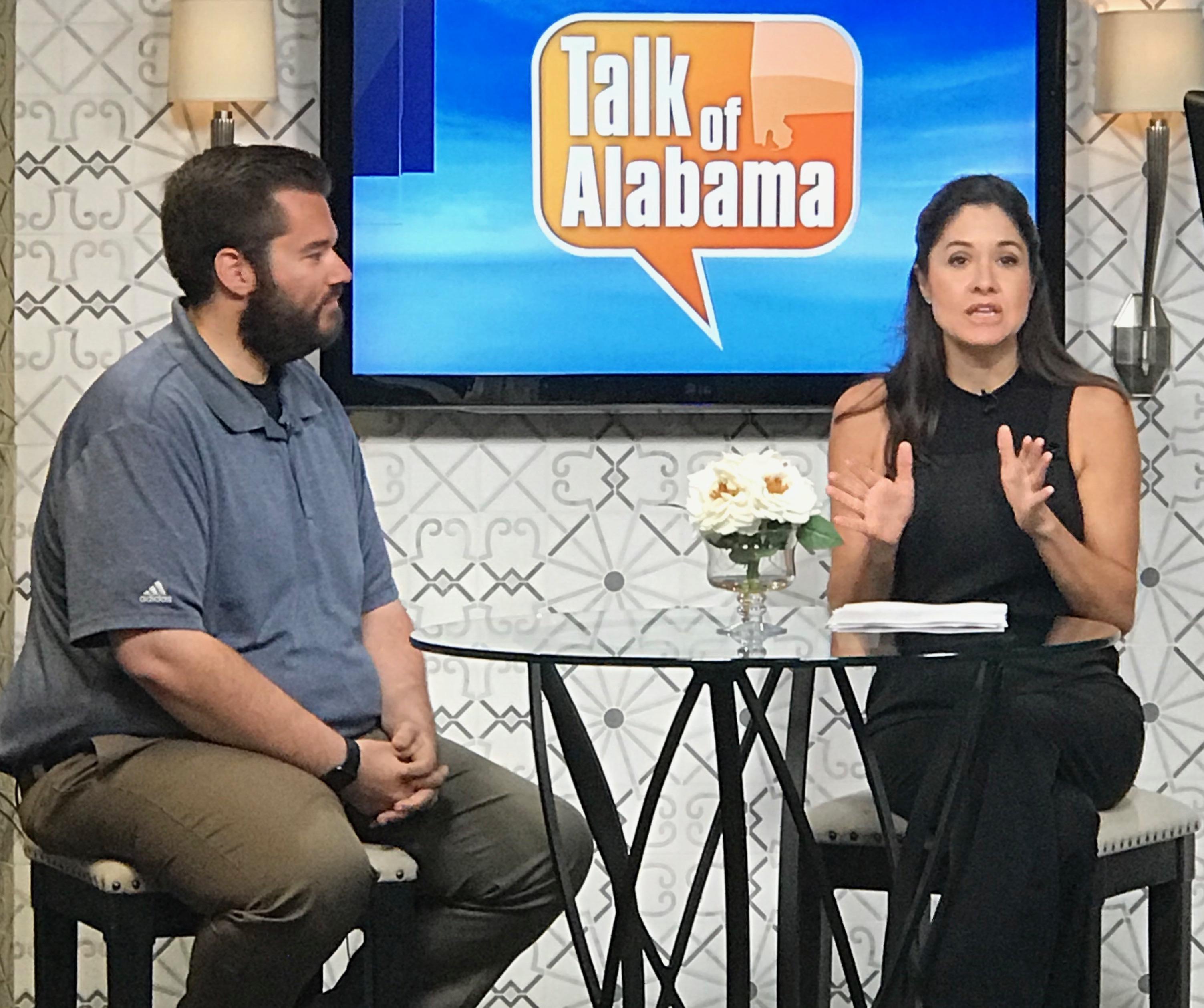 Under the Lights Foundation on Talk of Alabama